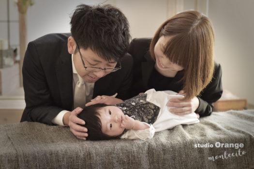中山寺 お宮参り 家族写真