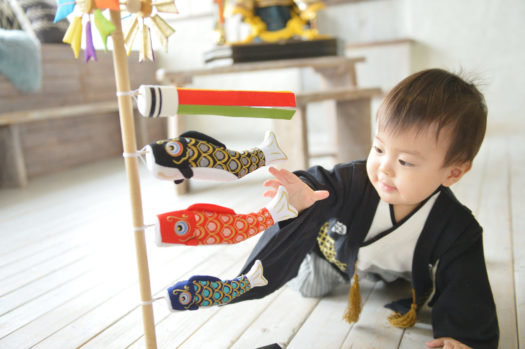 宝塚市 端午の節句 男の子 レンタル着物