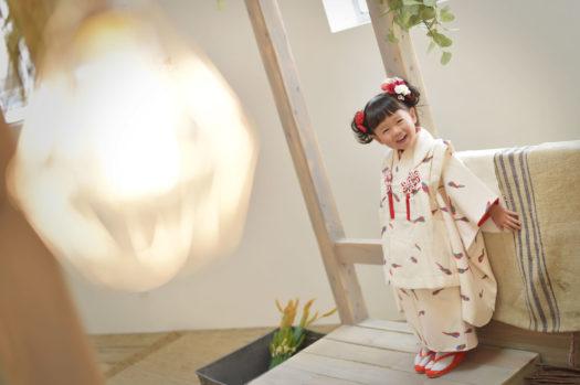 伊丹 七五三 3歳 女の子 持ち込み着物
