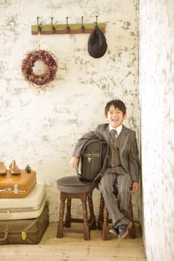 伊丹市 入学写真 男の子 ランドセル
