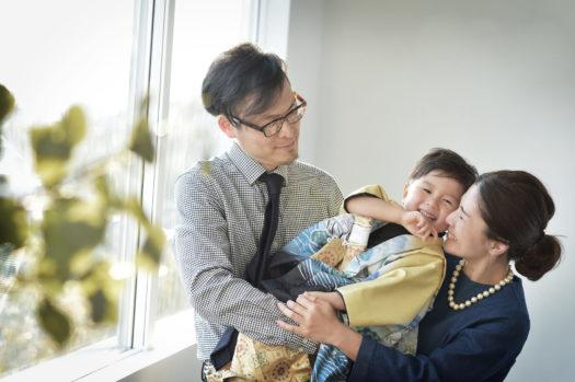 宝塚 七五三 3歳男の子