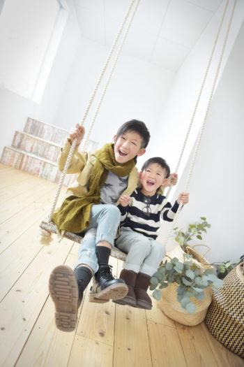 宝塚 七五三 5歳男の子 カジュアルフォト