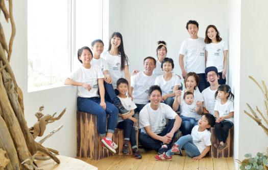 家族写真 自然光 ナチュラル