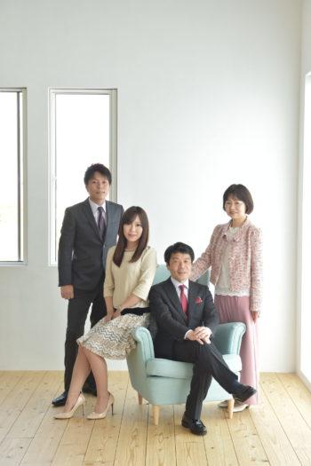 宝塚市 還暦 家族写真 還暦記念撮影