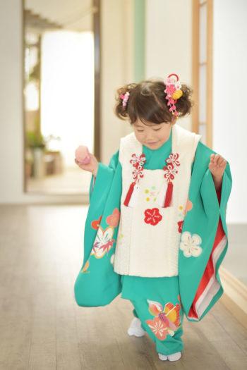 宝塚 七五三 3歳女の子