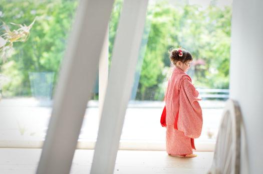 宝塚市 七五三 3歳 被布