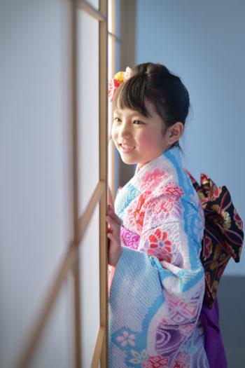 宝塚市 七五三 7歳 着物