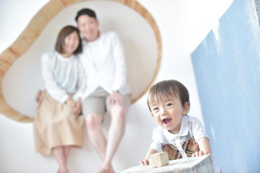宝塚市 バースデー写真 家族写真