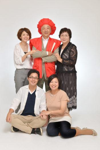 還暦祝い 長寿の祝い 家族写真