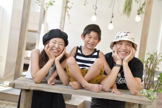 宝塚 家族写真