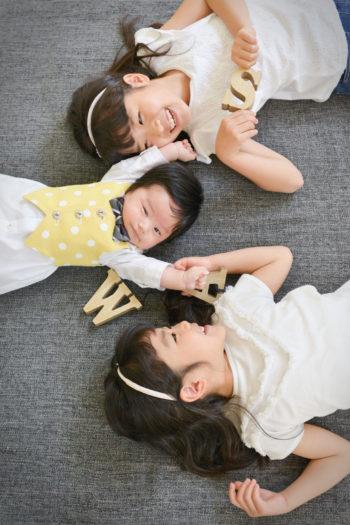 中山寺 お宮参り 写真 姉妹写真