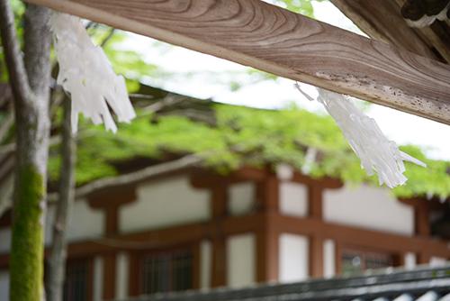 多田神社 風景 お宮参り