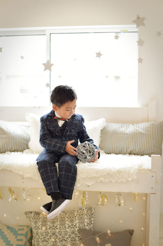 前撮り 5歳 タキシード