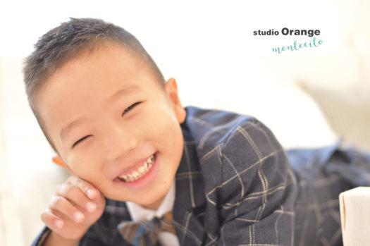七五三 宝塚市 自然な笑顔