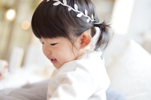 伊丹市 お誕生日写真 女の子 自然な笑顔