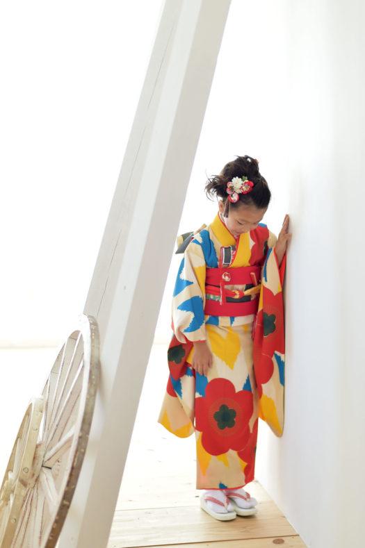 宝塚市 七五三 7歳 ブランド着物