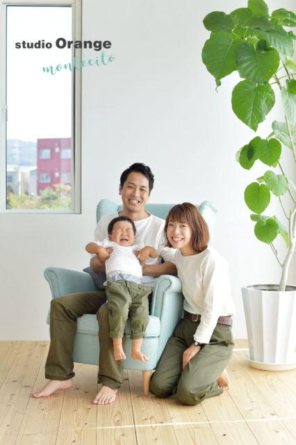 三田市 家族写真 誕生日記念