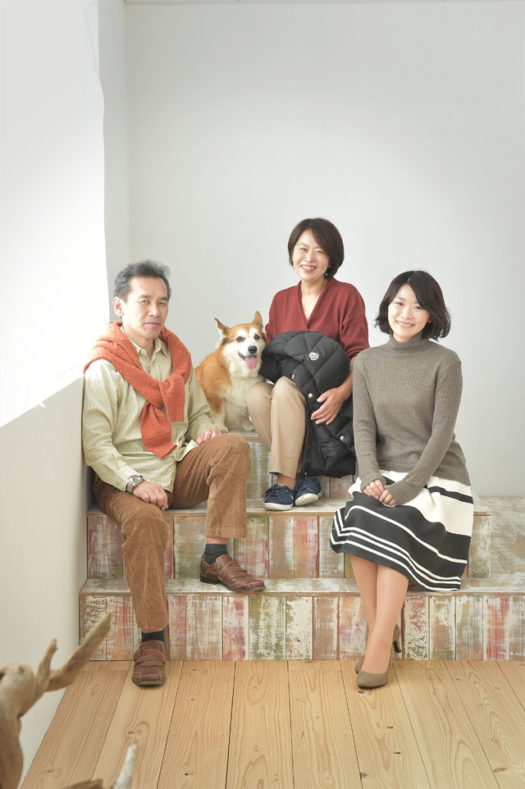 川西市 家族写真 ファミリーフォト