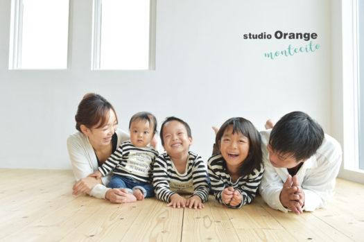 池田市 七五三 家族写真