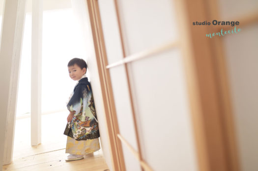 宝塚 七五三 3歳男の子 羽織袴