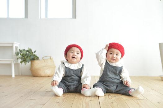宝塚 バースデーフォト 双子