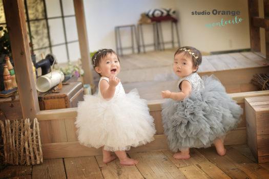 川西市 誕生日写真 ドレス