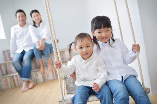 宝塚 家族写真 オシャレ