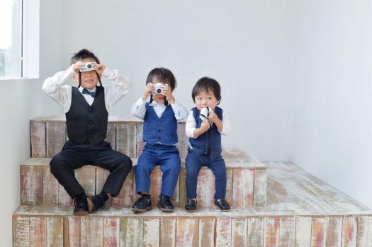宝塚市 七五三 男の子 洋装