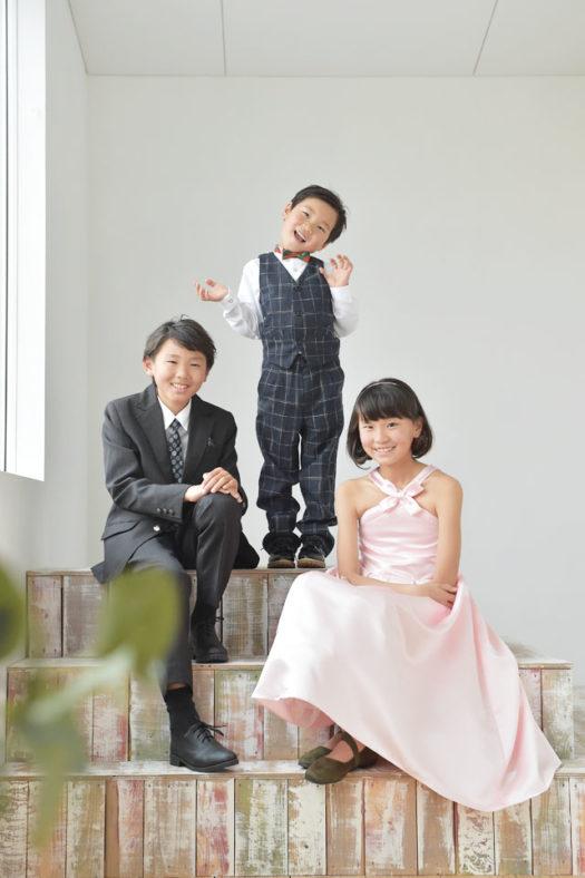 宝塚市 七五三 後撮り 5歳 兄弟写真