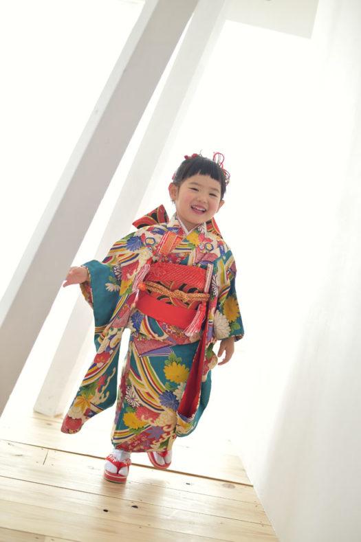 宝塚市 七五三 3歳 伝統の着物