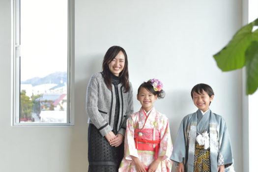 生駒 七五三 家族写真