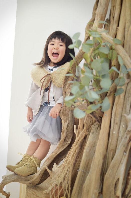 宝塚市 バースデーフォト カジュアル衣装 スタジオ衣装