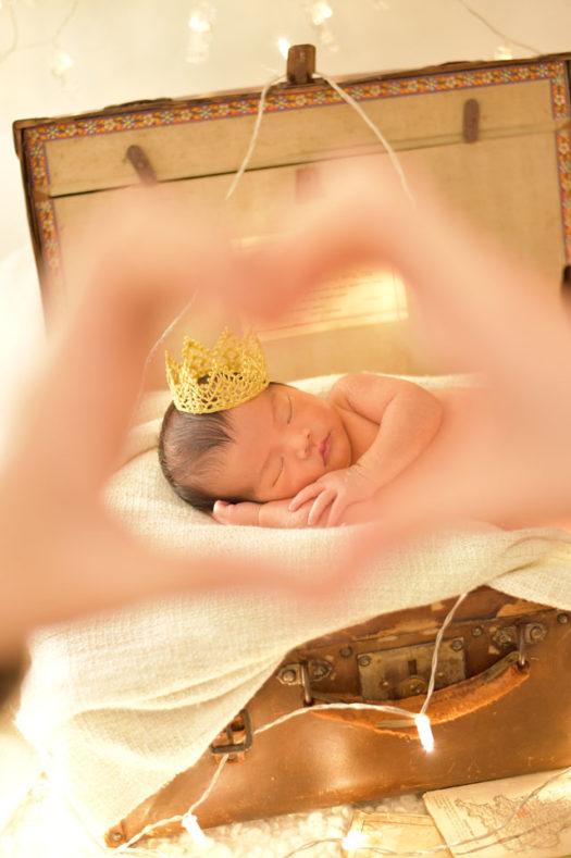 宝塚市 ニューボーンフォト 新生児フォト 男の子
