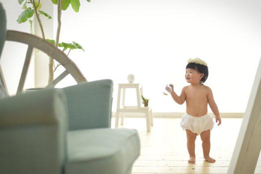 宝塚市 1歳 バースデー 女の子