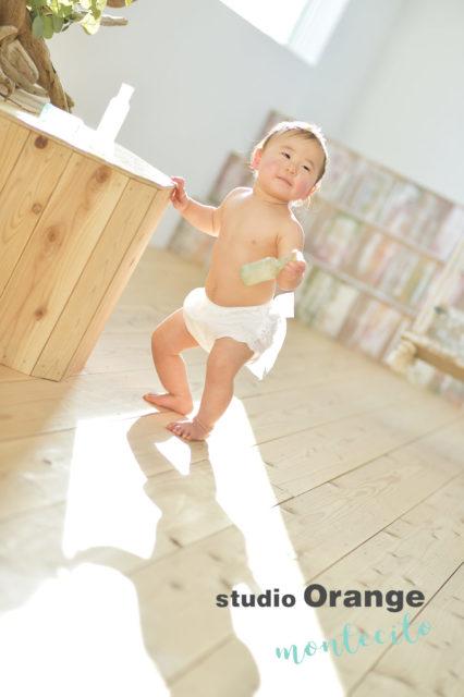 宝塚市 バースデーフォト 1歳 女の子