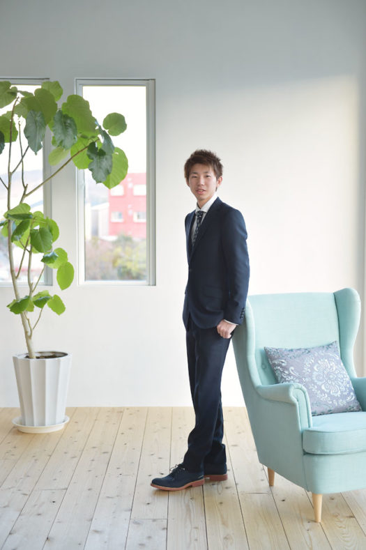 宝塚市 成人式 男性 スーツ