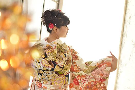 宝塚市 成人式 二十歳 振袖