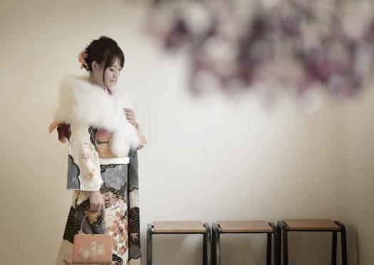 宝塚 成人式前撮り 自然な雰囲気