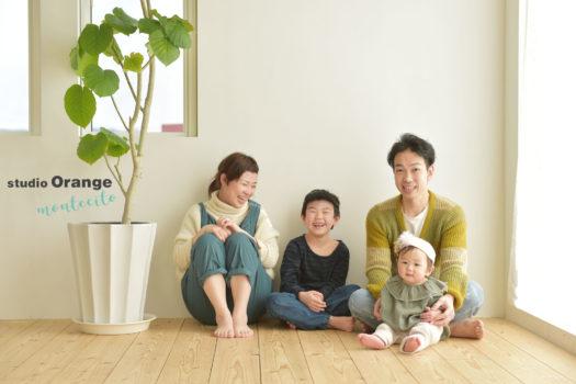 西宮市 お誕生日撮影 1歳 家族写真