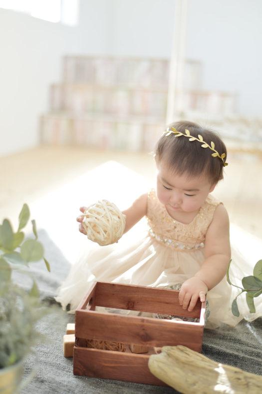 宝塚市 誕生日記念 1歳 ドレス