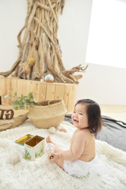 宝塚市 バースデーフォト 1歳女の子