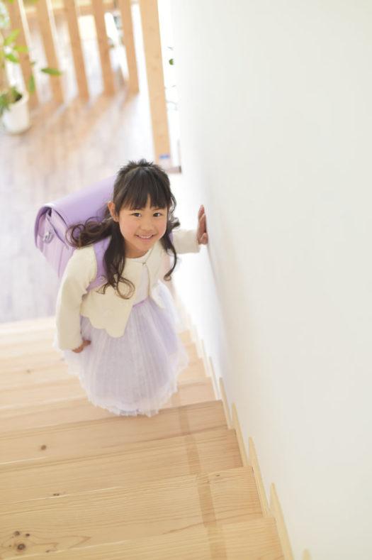 宝塚市 入学記念 女の子 紫のランドセル