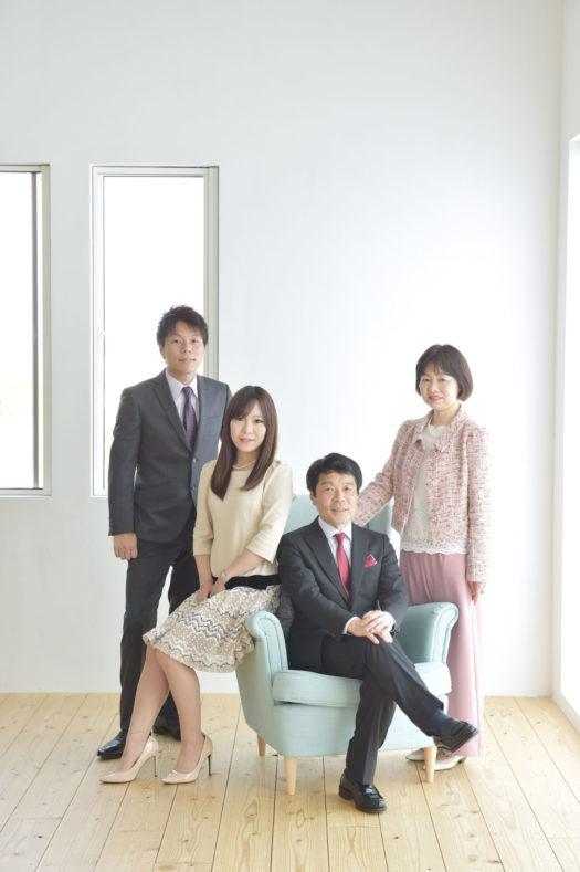 宝塚市 還暦 家族写真