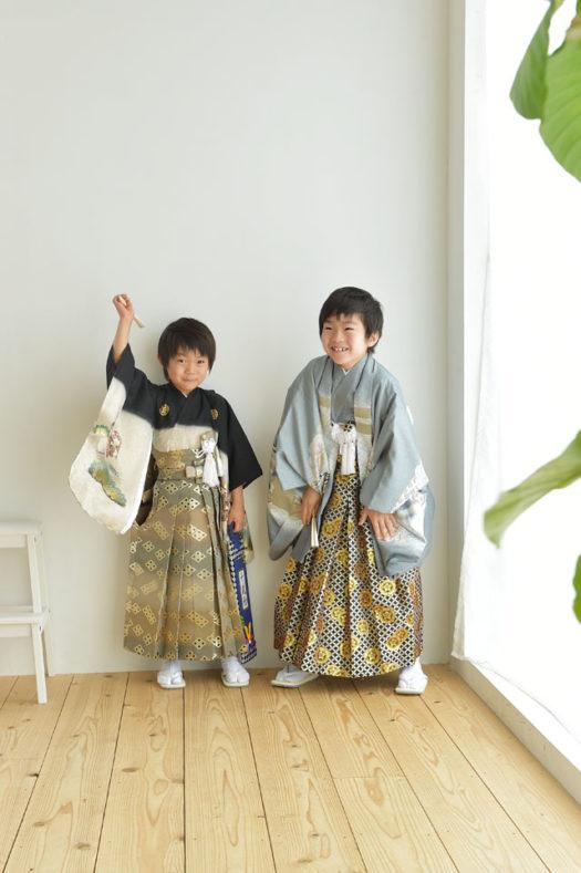 宝塚市 七五三 5歳 着物