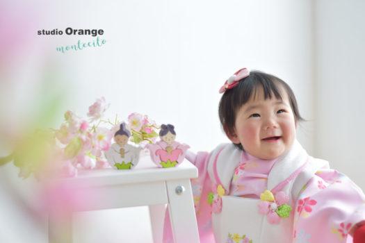宝塚市 節句 桃の節句 雛人形 スタジオオレンジモンテシート