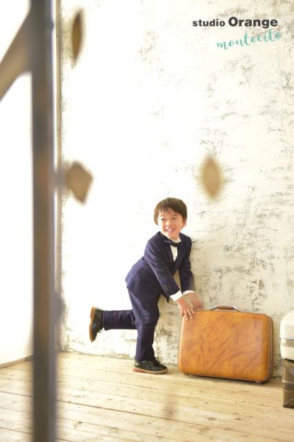 西宮市 七五三 4歳 男の子