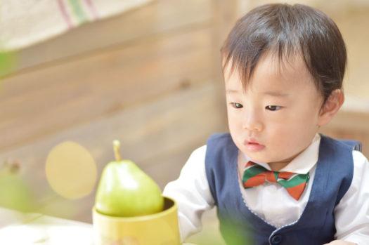 宝塚市 バースデーフォト 1歳男の子