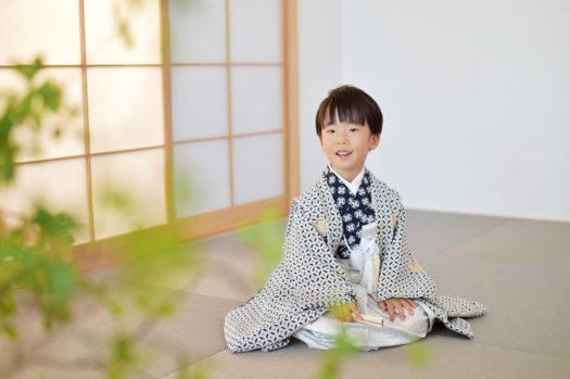 宝塚市 七五三 5歳男の子