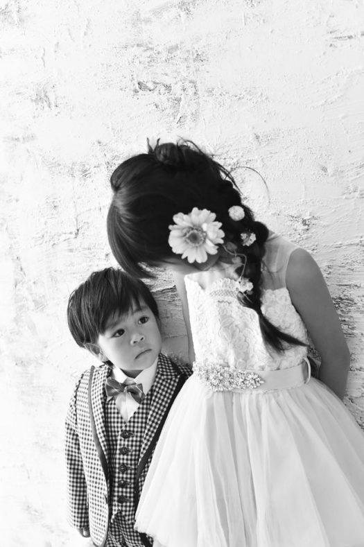 宝塚市 七五三 7歳女の子 3歳男の子