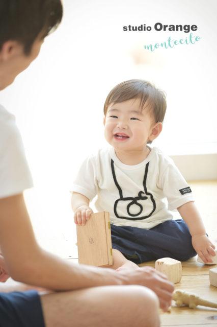川西市 お誕生日記念 1歳 男の子